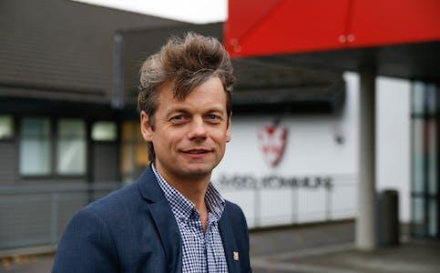 Jostein Førre, rådmann i Sveio kommune.