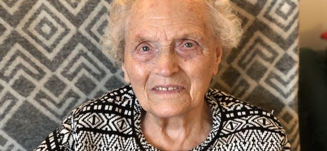 Kari Sofie Emberland g. Lokna kom til verda i 1925.