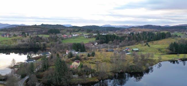 Bruvoll, Bråtveit og Krossgått. Desember 2020