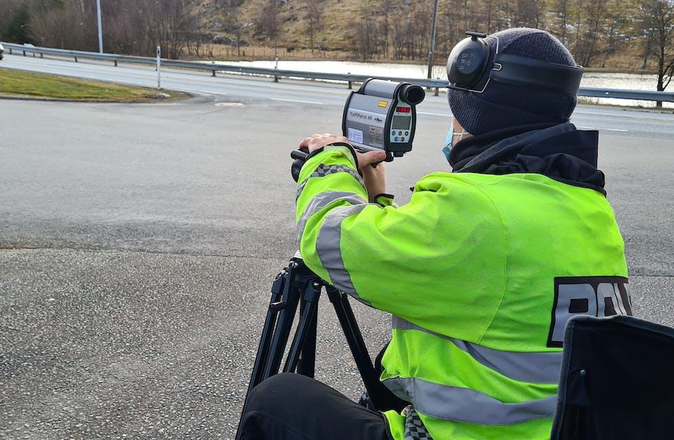 Nils Henrik Nodland kontroll laser trafikk politi bot