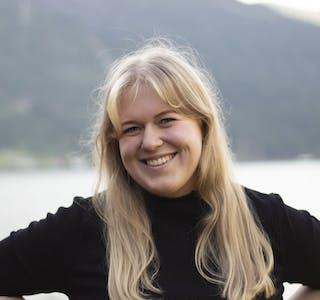 Frida Pernille Mikkelsen, leiar i Norsk Målungdom.