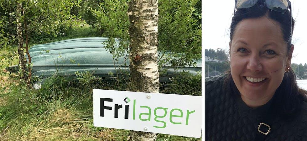 Lene Solstad Apeland er dagleg leiar i Frilager Haugalandet, som har åtte kanoar til utlån i Sveio.