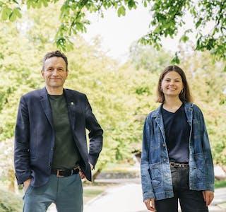Arild Hermstad og Josefine Gjerde er  1.- og 2. kandidat for MDG i Hordaland.