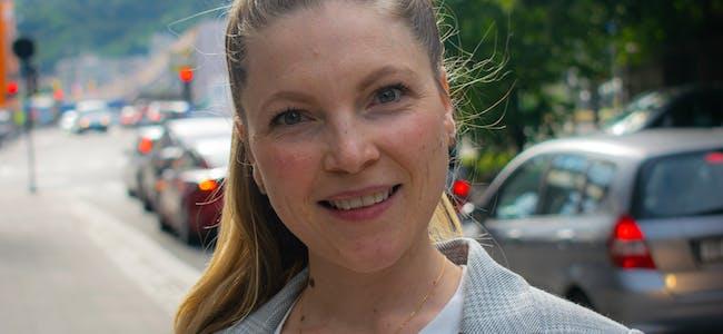 Liv Marie Bendheim, kampanjeansvarlig i Ung i Trafikken.