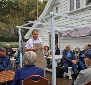 Torstein Hatlevik fortel om livet på Espevær.