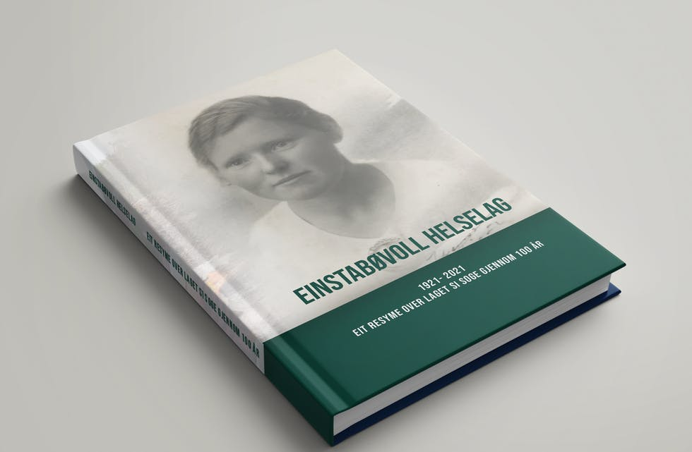 Einstadbøvoll helselaga si jubileumsbok blir trykka hos Værøy Identitet og Profil AS i Kopervik.