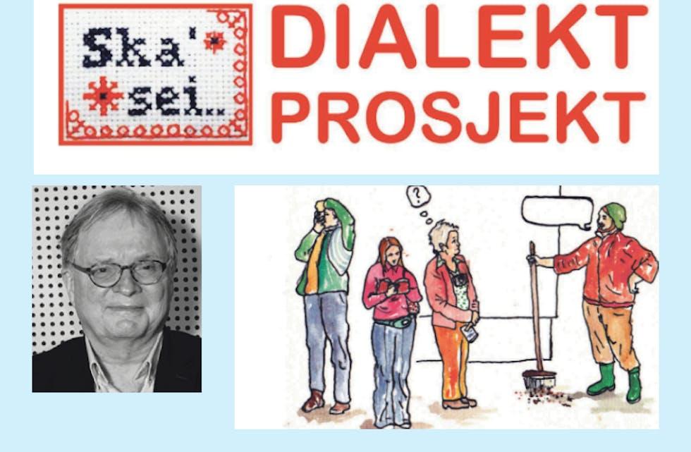 Ivar Sveine, leiar for dialektprosjektet «Ska´sei», er på jakt etter informantar som er 15-16 år, og over 60.