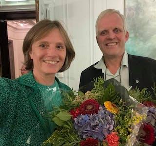 Kjersti Toppe og Nils T Bjørke er stortingsrepresentantar frå Hordaland valdistrikt.