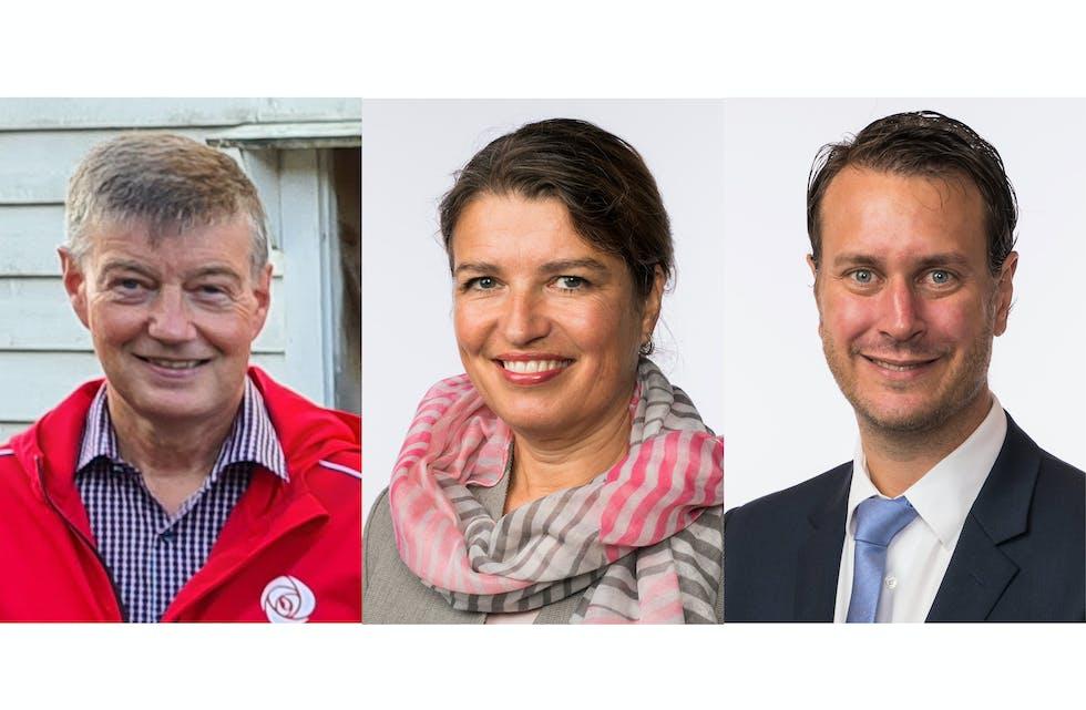 Odd Harald Hovland, Liv Kari Eskeland og Helge André Njåstad
