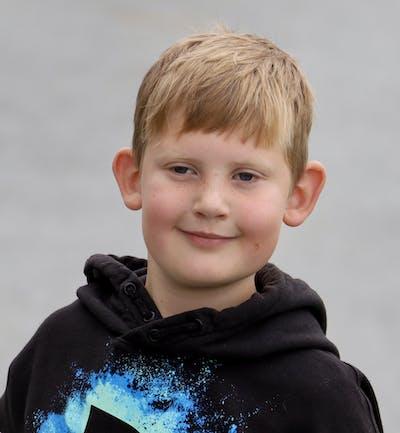 Leiv Johannessen 8 år