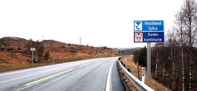 Vestland fylke, Sveio kommune.